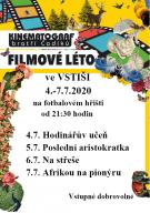 Filmové léto - plakát